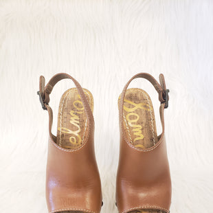 Primary Photo - BRAND: SAM EDELMAN STYLE: SANDALS LOW COLOR: CARAMEL SIZE: 6.5 OTHER: AS ISOTHER INFO: NO RETURNS SKU: 245-24518-70940