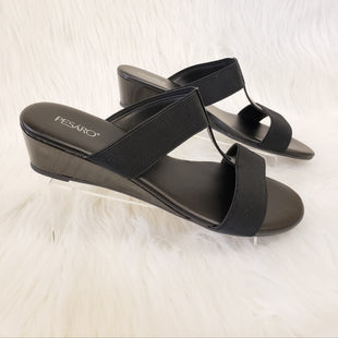Primary Photo - BRAND: PESARO STYLE: SANDALS LOW COLOR: BLACK SIZE: 9.5 OTHER INFO: NO RETURNS SKU: 245-24513-79177