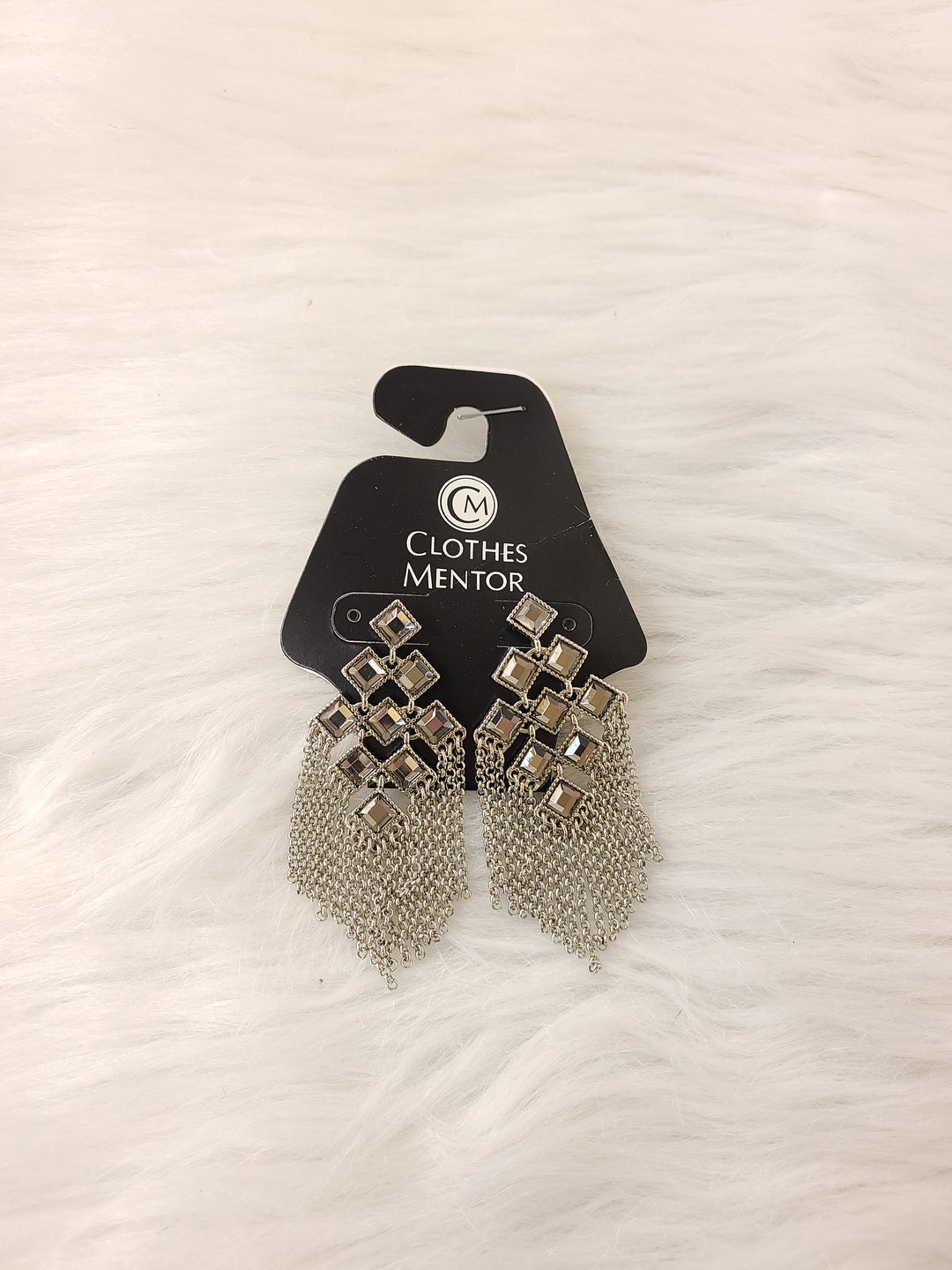 Primary Photo - BRAND: LIA SOPHIA JEWELRY <BR>STYLE: EARRINGS <BR>COLOR: SILVER <BR>SKU: 245-24513-83977