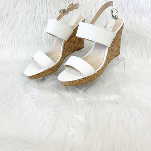 Primary Photo - BRAND: NINE WEST SHOES STYLE: SANDALS HIGH COLOR: WHITE SIZE: 11 OTHER INFO: NO RETURNS SKU: 245-24513-76550