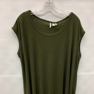 Primary Photo - BRAND: CATO STYLE: TUNIC SHORT SLEEVE COLOR: OLIVE SIZE: 2X SKU: 245-245199-195