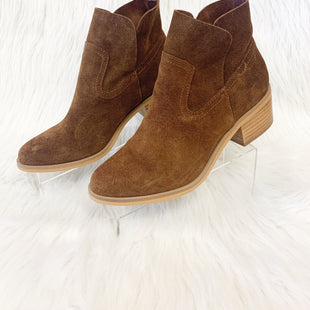 Primary Photo - BRAND: STEVE MADDEN STYLE: BOOTS ANKLE COLOR: BROWN SIZE: 6.5 OTHER INFO: NO RETURNS SKU: 245-24513-78739
