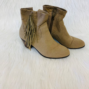 Primary Photo - BRAND: APT 9 STYLE: BOOTS ANKLE COLOR: TAN SIZE: 8.5 SKU: 245-24513-82278