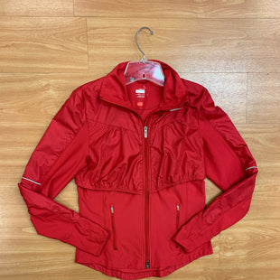 Primary Photo - BRAND: NIKE APPAREL STYLE: ATHLETIC JACKET COLOR: RED SIZE: S SKU: 245-24513-84083