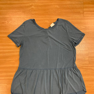 Primary Photo - BRAND:    CLOTHES MENTOR STYLE: TUNIC SHORT SLEEVE COLOR: BLUE SIZE: 2X OTHER INFO: MOTE SKU: 245-245199-2778