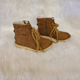 Primary Photo - BRAND: MAD LOVE STYLE: BOOTS ANKLE COLOR: CARAMEL SIZE: 7 OTHER INFO: NO RETURNS SKU: 245-24518-79330