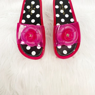 Primary Photo - BRAND: KATE SPADE STYLE: SANDALS FLAT COLOR: PINK SIZE: 6 OTHER INFO: SPLASH - NO RETURNS SKU: 245-245189-12941