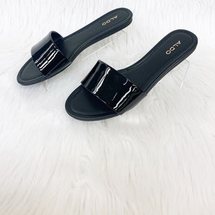 Primary Photo - BRAND: ALDO STYLE: SANDALS FLAT COLOR: BLACK SIZE: 8 OTHER INFO: NO RETURNS SKU: 245-24513-78299