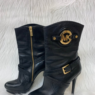 Primary Photo - BRAND: MICHAEL BY MICHAEL KORS STYLE: BOOTS ANKLE COLOR: BLACK SIZE: 6 OTHER INFO: NO RETURNS SKU: 245-245189-16929