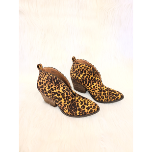 Primary Photo - BRAND: COCONUTS STYLE: BOOTS ANKLE COLOR: ANIMAL PRINT SIZE: 7 OTHER INFO: NO RETURNS SKU: 245-24513-83408