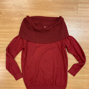 Primary Photo - BRAND: MICHAEL BY MICHAEL KORS STYLE: SWEATER LIGHTWEIGHT COLOR: RED SIZE: L SKU: 245-24513-82794