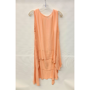 Primary Photo - BRAND: MADISON STYLE: TUNIC SHORT SLEEVE COLOR: LIGHT PINK SIZE: 1X SKU: 245-24518-74602
