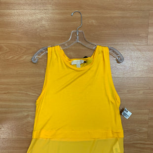 Primary Photo - BRAND: MICHAEL BY MICHAEL KORS STYLE: TOP SLEEVELESS COLOR: SUN SIZE: M SKU: 245-245189-15606
