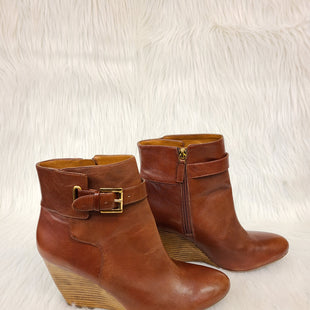 Primary Photo - BRAND: NINE WEST SHOES STYLE: BOOTS ANKLE COLOR: BROWN SIZE: 11 SKU: 245-24511-13273