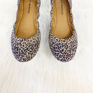 Primary Photo - BRAND: LUCKY BRAND STYLE: SHOES FLATS COLOR: ANIMAL PRINT SIZE: 9 OTHER INFO: NO RETURNS SKU: 245-245189-13367