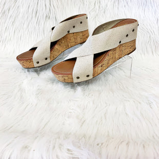 Primary Photo - BRAND: CROWN VINTAGE STYLE: SANDALS LOW COLOR: BEIGE SIZE: 11 OTHER INFO: NO RETURNS SKU: 245-24513-76556