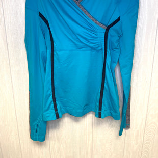 Primary Photo - BRAND: LULULEMON STYLE: ATHLETIC TOP COLOR: TURQUOISE SIZE: M OTHER INFO: 8 SKU: 245-24511-16934