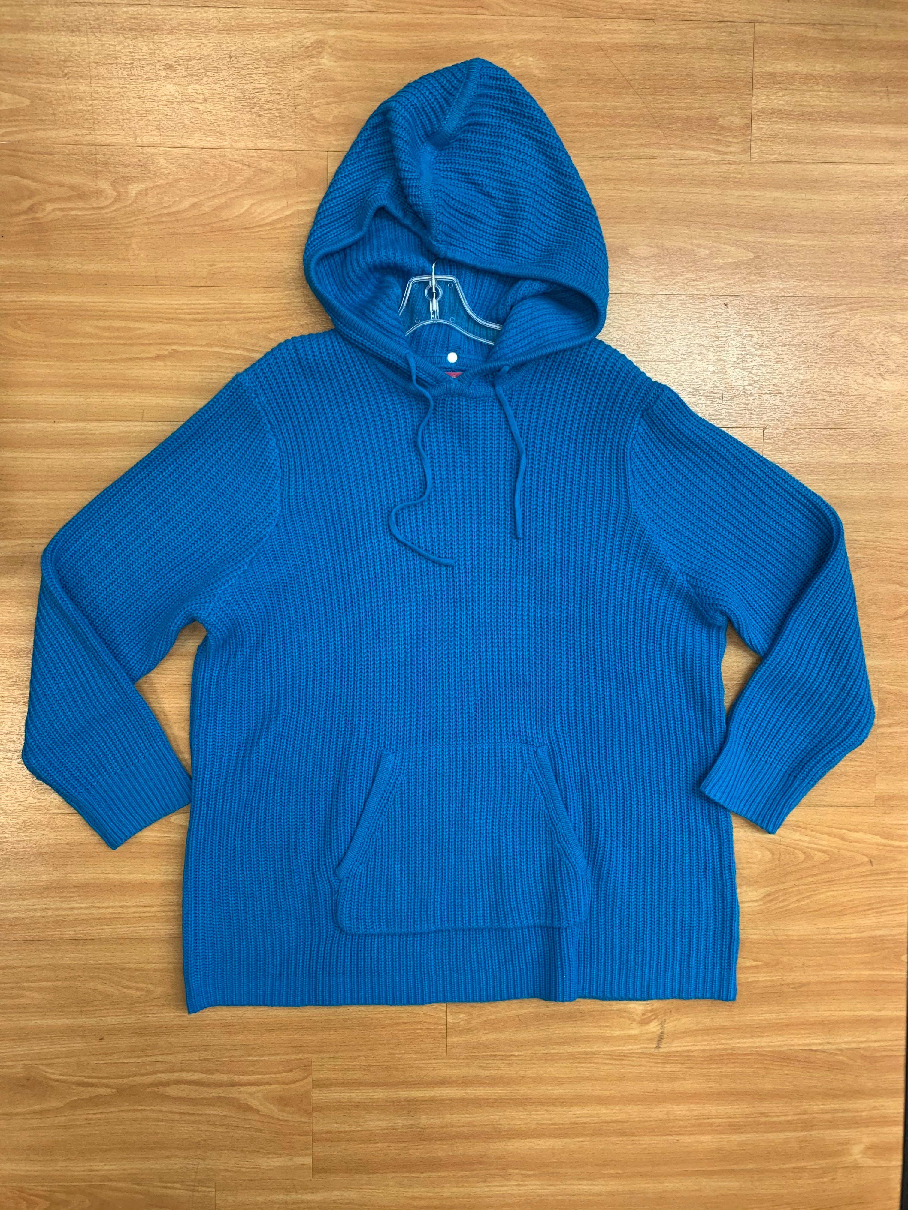 Primary Photo - BRAND: WOMAN WITHIN <BR>STYLE: SWEATER HEAVYWEIGHT <BR>COLOR: TURQUOISE <BR>SIZE: 2X <BR>SKU: 245-245199-5161