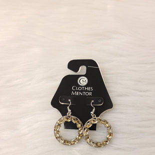 Primary Photo - BRAND:    CLOTHES MENTOR STYLE: EARRINGS COLOR: SILVER OTHER INFO: NO RETURNS  AMBER STONES SKU: 245-24518-77034