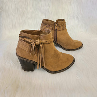 Primary Photo - BRAND: TIME AND TRU STYLE: BOOTS ANKLE COLOR: BROWN SIZE: 7.5 OTHER INFO: NO RETURNS SKU: 245-24518-77591
