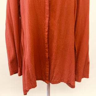 Primary Photo - BRAND:   CMC STYLE: TUNIC LONG SLEEVE COLOR: RUST SIZE: M OTHER INFO: MIILLA SKU: 245-24588-24830