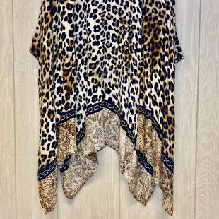 Primary Photo - BRAND: CHICOS STYLE: SWEATER CARDIGAN COLOR: ANIMAL PRINT SIZE: M OTHER INFO: BROWN BLACK GOLD SKU: 245-24518-80883