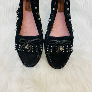 Primary Photo - BRAND: COACH STYLE: SHOES FLATS COLOR: BLACK SIZE: 7.5 OTHER INFO: ROCCASIN SLIP ON- NO RETURNS SKU: 245-245199-2021