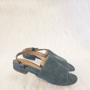 Primary Photo - BRAND: MADEWELL STYLE: SANDALS LOW COLOR: TEAL SIZE: 6.5 OTHER INFO: NO RETURNS SKU: 245-24513-74982