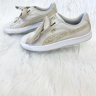 Primary Photo - BRAND: PUMA STYLE: SHOES ATHLETIC COLOR: TAN SIZE: 8 OTHER INFO: NO RETURNS SKU: 245-24513-78825