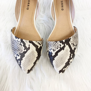 Primary Photo - BRAND: TORRID STYLE: SHOES FLATS COLOR: SNAKESKIN PRINT SIZE: 7.5 OTHER INFO: NO RETURNS SKU: 245-245189-11813