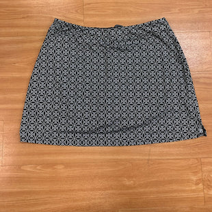 Primary Photo - BRAND:    CLOTHES MENTOR STYLE: ATHLETIC SKIRT SKORT COLOR: BLACK WHITE SIZE: 2X SKU: 245-24511-12463