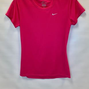 Primary Photo - BRAND: NIKE APPAREL STYLE: ATHLETIC TOP SHORT SLEEVE COLOR: PINK SIZE: XS SKU: 245-24518-73578