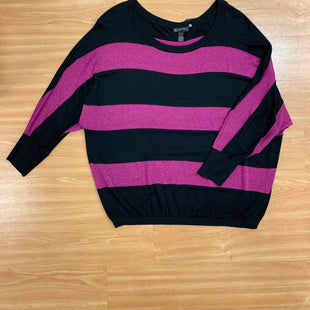 Primary Photo - BRAND: INC O STYLE: SWEATER LIGHTWEIGHT COLOR: PINKBLACK SIZE: 3X SKU: 245-24513-80760