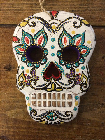 Flat Skull - Day of the Dead/Halloween