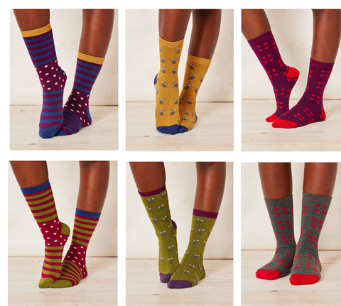 New ladies bamboo socks Karavaneco