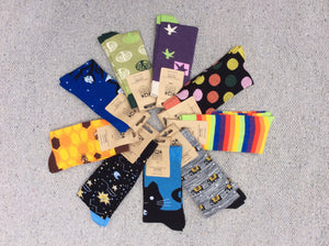 Shared Earth Bamboo Socks (4-7)