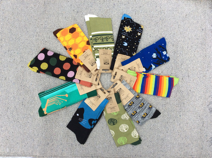 Shared Earth Bamboo Socks (7-11)