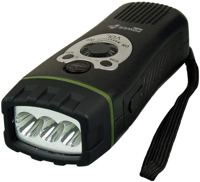 Wolf LED Flashlight / FM Radio