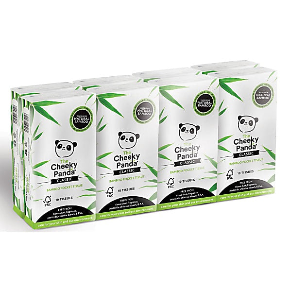Bamboo Pocket Tissue (Pack of 4)