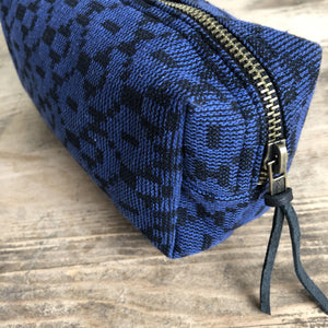 Cosmetic Bag - Handwoven Dhaka