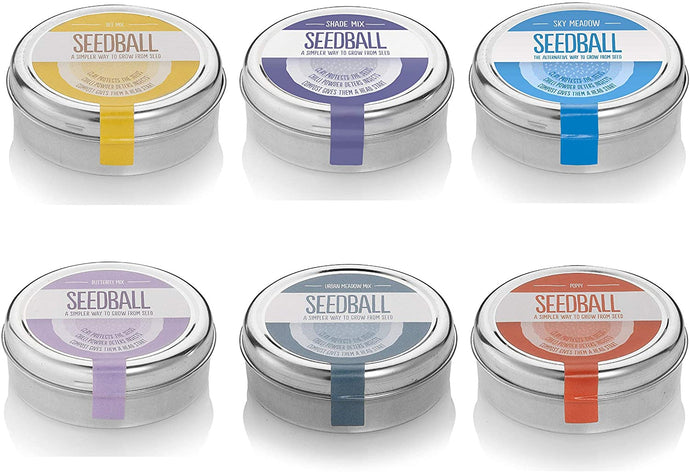Seedball Mix Tins