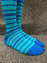 Bamboo Socks 4-7 (36 - 40) All Blue