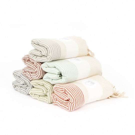 Bamboo Towel - Dots