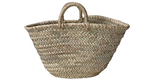 Rope Handle Shopping Basket