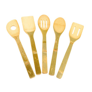 Bamboo Cooking Utensil - Set / 6