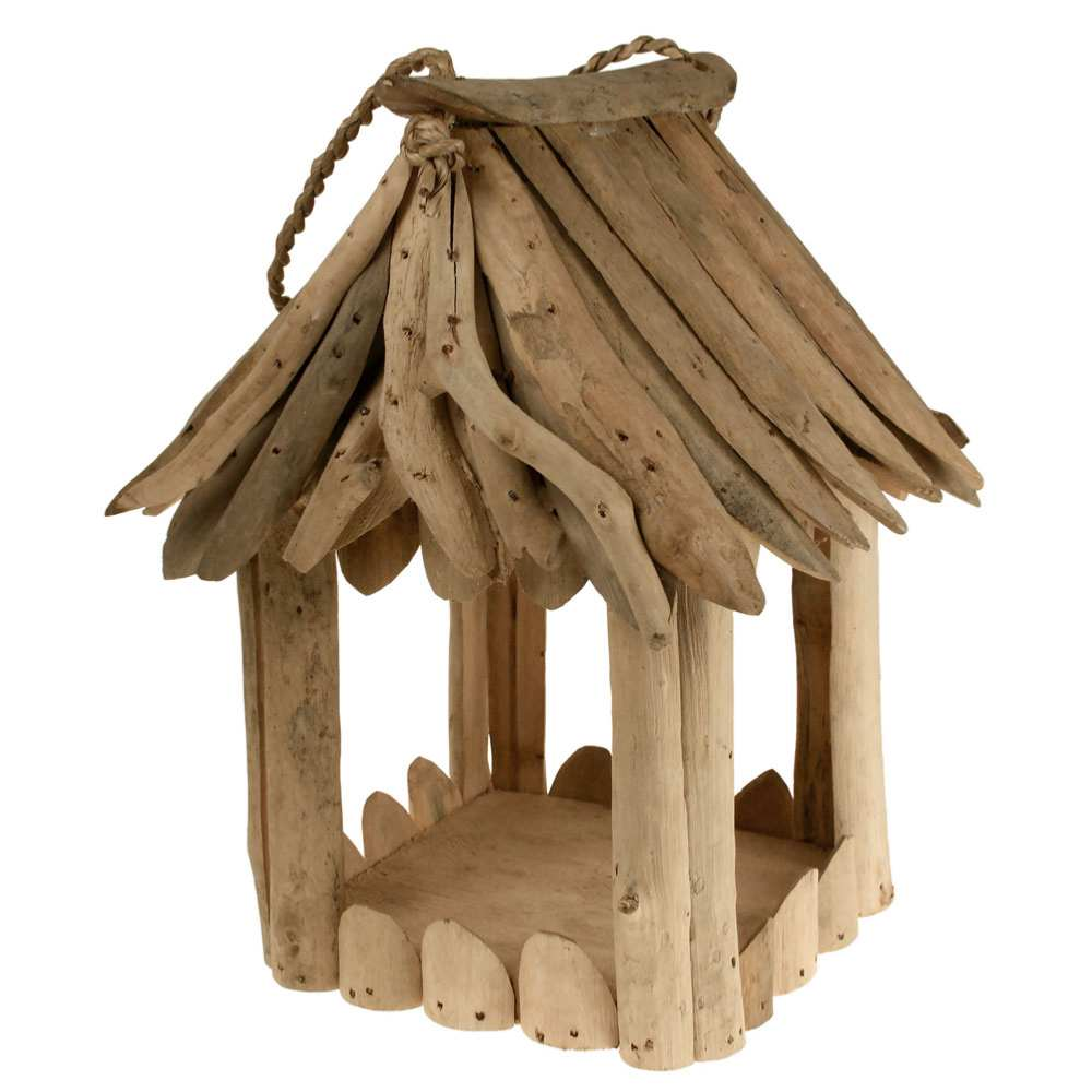 Bird Feeder -  Driftwood