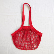 Recycled String Bag with Long Handle