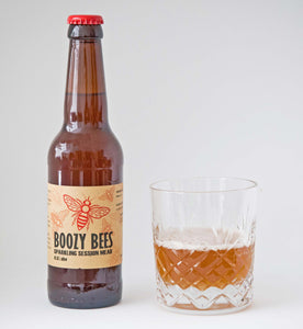 Boozy Bees – Sparkling Session Mead (4.5% abv) 330ml