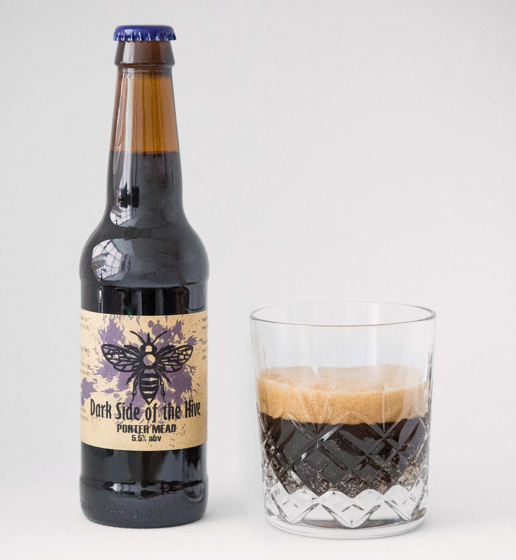 Dark Side of the Hive – Porter Mead (5.5% abv) 330ml