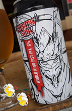 Load image into Gallery viewer, World King Fist IPA 440ml Can (6% abv)